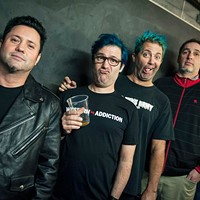"""""""Integrity and conviction"""" are two reasons Fat has endured, says Lagwagon's Joey Cape (centre)."""