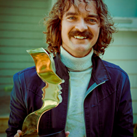Mike O'Neill with a Gemini Award