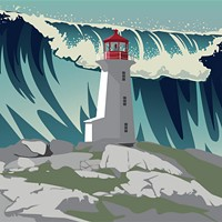 The real idiot of Peggy's Cove was our dependency on fossil fuels.