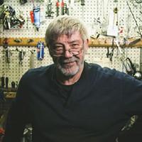 Nauss Bicycle Shop's second-generation fixer, Dave Nauss.