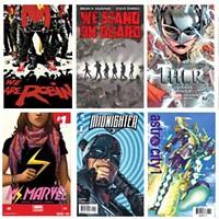 Top 10 comics released in 2015