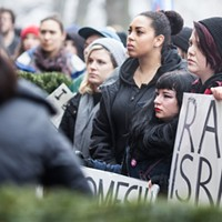 Photos from Friday's We Believe Survivors rally