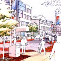 Design possibilities from the last time the municipality tried to upgrade Spring Garden Road's streetscape in 2009.