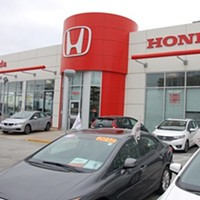 The colonizing Honda dealership in question.