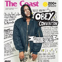 Watch for Mykki Blanco on The Coast's new hard-copy issue, featuring the OBEY Convention guide