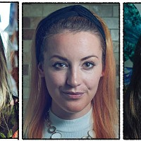 Artist Jordyn Bochon, Liz Mac and Amber Solberg will all appear at this weekend's festival.