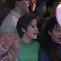 Fans in 1990—early to The Tragically Hip, late at the Misty Moon.