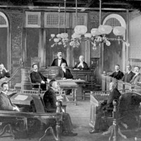 The Halifax council of 1903 had more moustaches than are seen today at City Hall.
