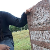 Music producer and filmmaker Keke Beatz pays respects to his grandmother's grave.
