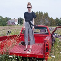 Grue's wrap top is breezy, durable and one-size-fits-all