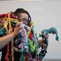 Get tangled up in Brideau's work.