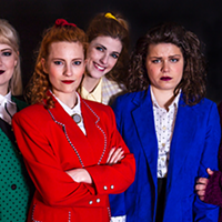 Blazer envy with Heathers: The Musical.