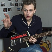 Joel Plaskett rocks out with a special Tall Ships show on George's Island (see 2).