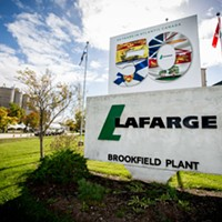 Lafarge's Brookfield cement plant will soon be using scrap tires to fuel its kiln.