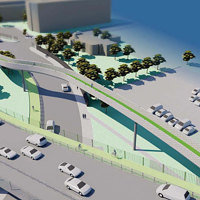 Cheaper alternatives, like installing a traffic light on the current Halifax exit ramp, were considered but decided against by HRM.