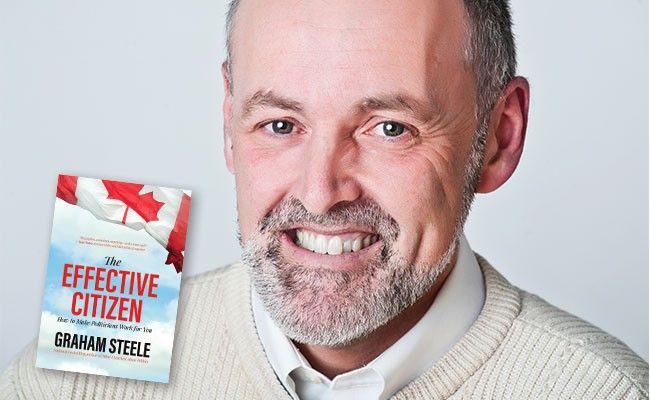 Graham Steele was a member of the Nova Scotia legislature from 2001 to 2013. His latest book, The Effective Citizen: How to Make Politicians Work For You is available now from Nimbus Publishing. - VIA NIMBUS PUBLISHING