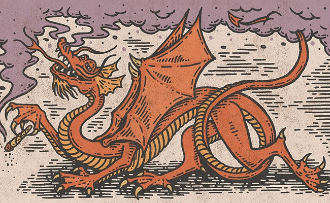 The great Red Dragon is a revelation. - MIDNIGHT OIL PRINT & DESIGN