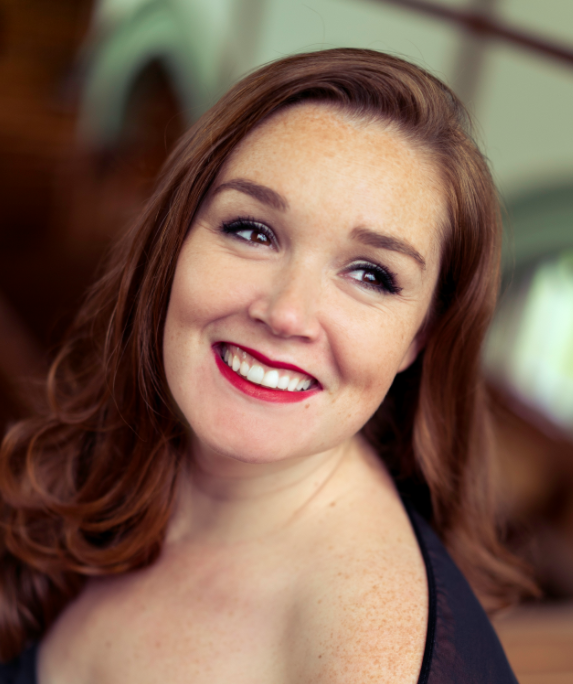 Soprano Maureen Batt debuts a new work written especially for her golden vocal chords this Saturday (see 5). - TOM BELDING
