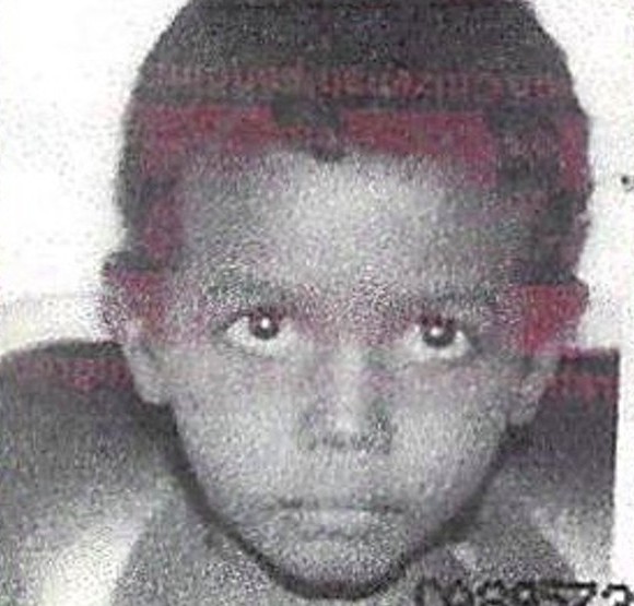 Abdoul Abdi, pictured here as a child and ward of the province. - SUBMITTED