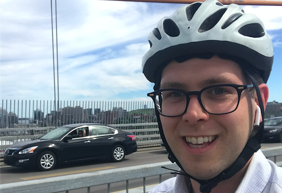 Ben Wedge has lived in Halifax since 2008 and has worked to improve our transportation options with the Halifax Cycling Coalition and It's More Than Buses. - SUBMITTED