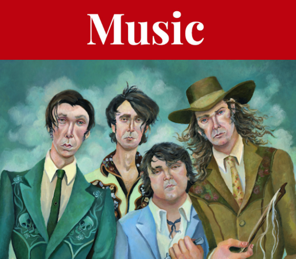 The Sadies bring their sad-happy songbook to The Marquee. - SUBMITTED ARTWORK