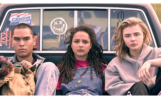 Chloë Grace Moretz (right) starts in The Miseducation of Cameron Post.