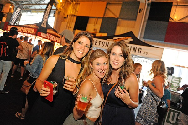 Beer lovers at last year's fest - CHR!S SM!TH