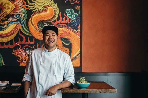 """For me, everybody has a different way of cooking and making food,"" says Lee. - ALEXA CUDE"
