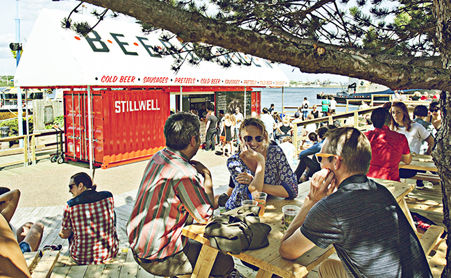 There is no more Stillwell beer garden on the waterfront. We finally know why this month. - THE COAST