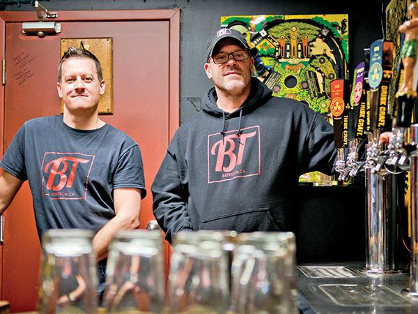 Ken Greer (right) and Duane Cross. - COREY ISENOR