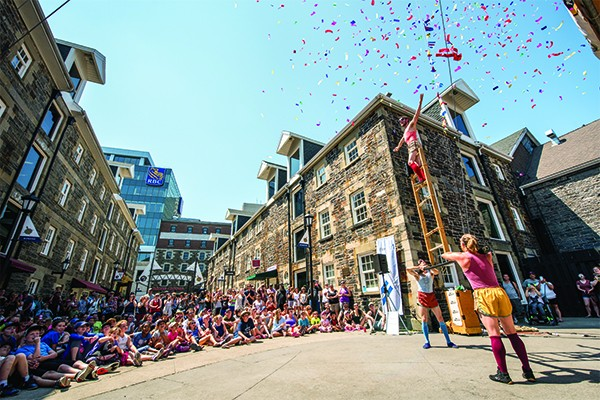 Halifax Buskers Festivals always draws a crowd - SUBMITTED