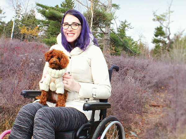 """Abby Surrette says people with disabilities are expected to """"hermit away,"""" but the reality is they live vibrant social lives. - SUBMITTED"""