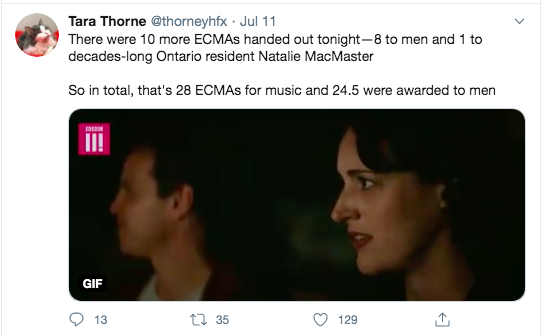 A Phoebe Waller-Bridge side-eye is the perfect gif for this tweet.