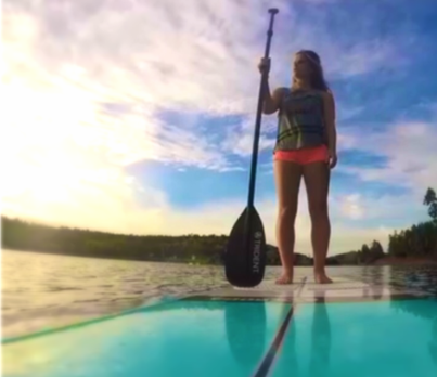 Grace Stolarz wants to SUP with you