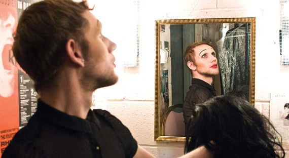 Emerging Toronto artist Andre Prefontaine wrote and stars in (mE)dith Piaf, on this weekend.
