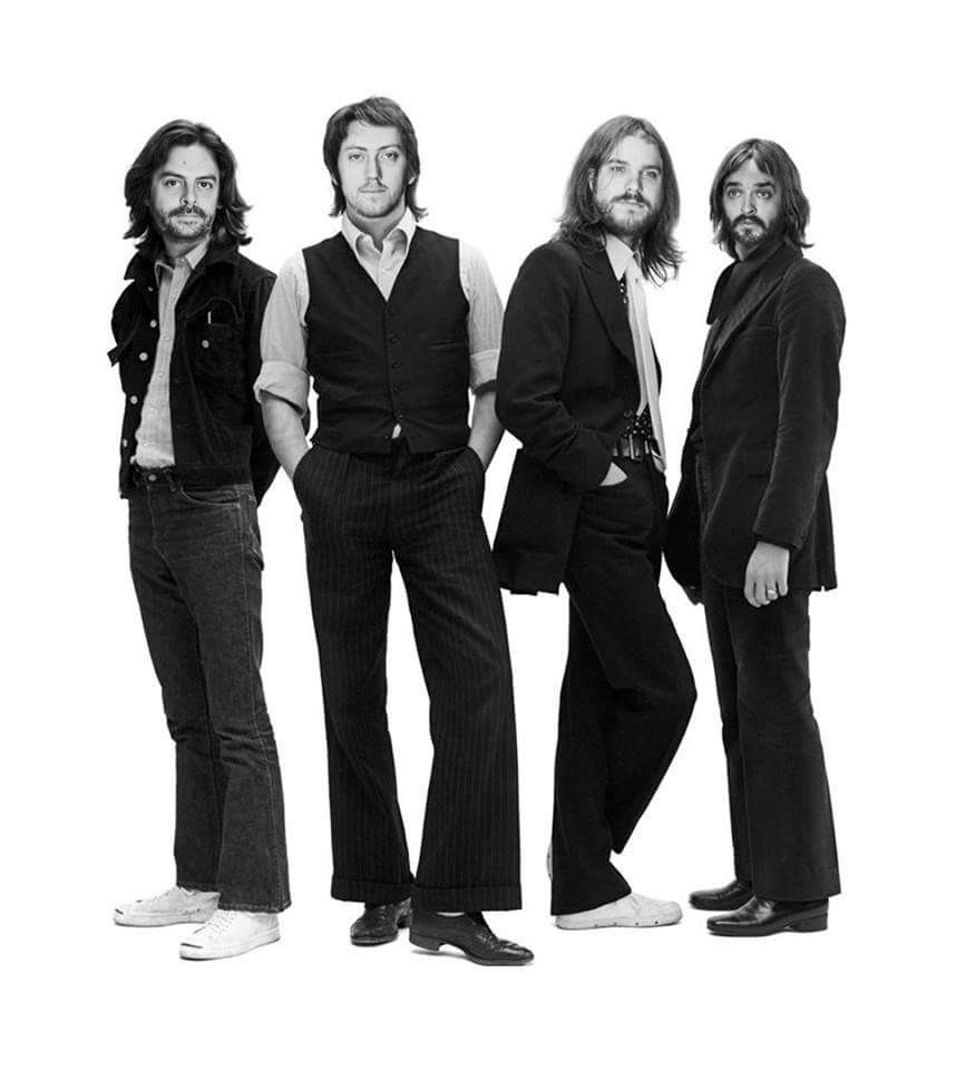 Click To Enlarge Floodland As The Beatles