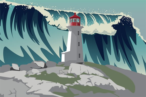 The real idiot of Peggy's Cove was our dependency on fossil fuels. - MATT BUSTIN