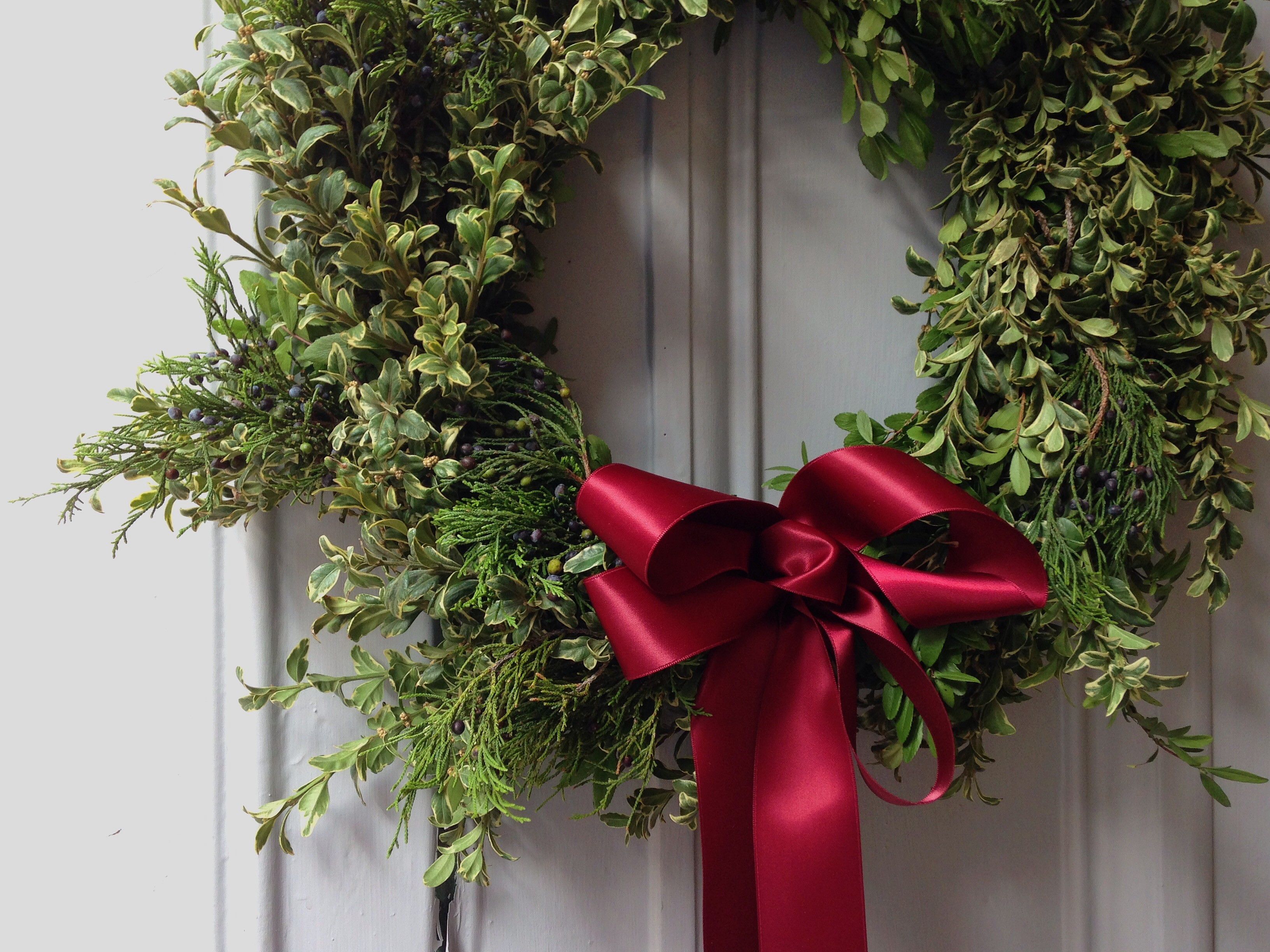 Wreaths! The Flower Shop will have 'em at the North by Night Market