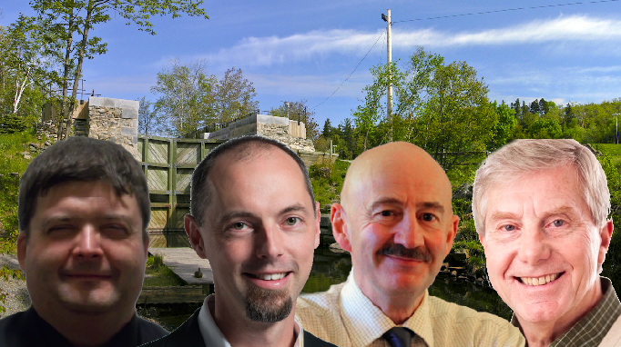 Paul Boyd, Matt Spurway, Tony Mancini and Don Smeltzer (l-r) - THE COAST