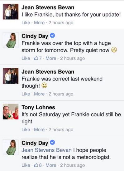 People want Cindy Day fired because of her Frankie MacDonald