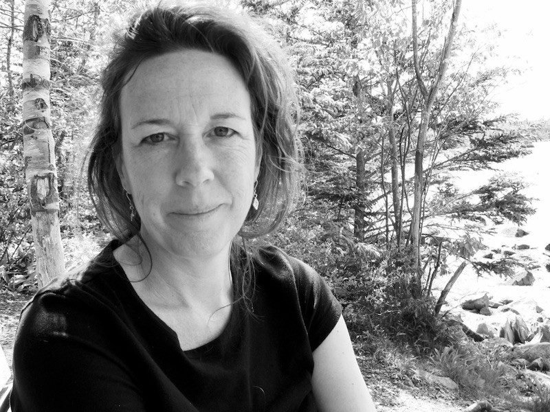 """""""We can't act until our pain has been witnessed,"""" says poet and community organizer Sue Goyette, who created Safe Harbour with Erin Wunker."""