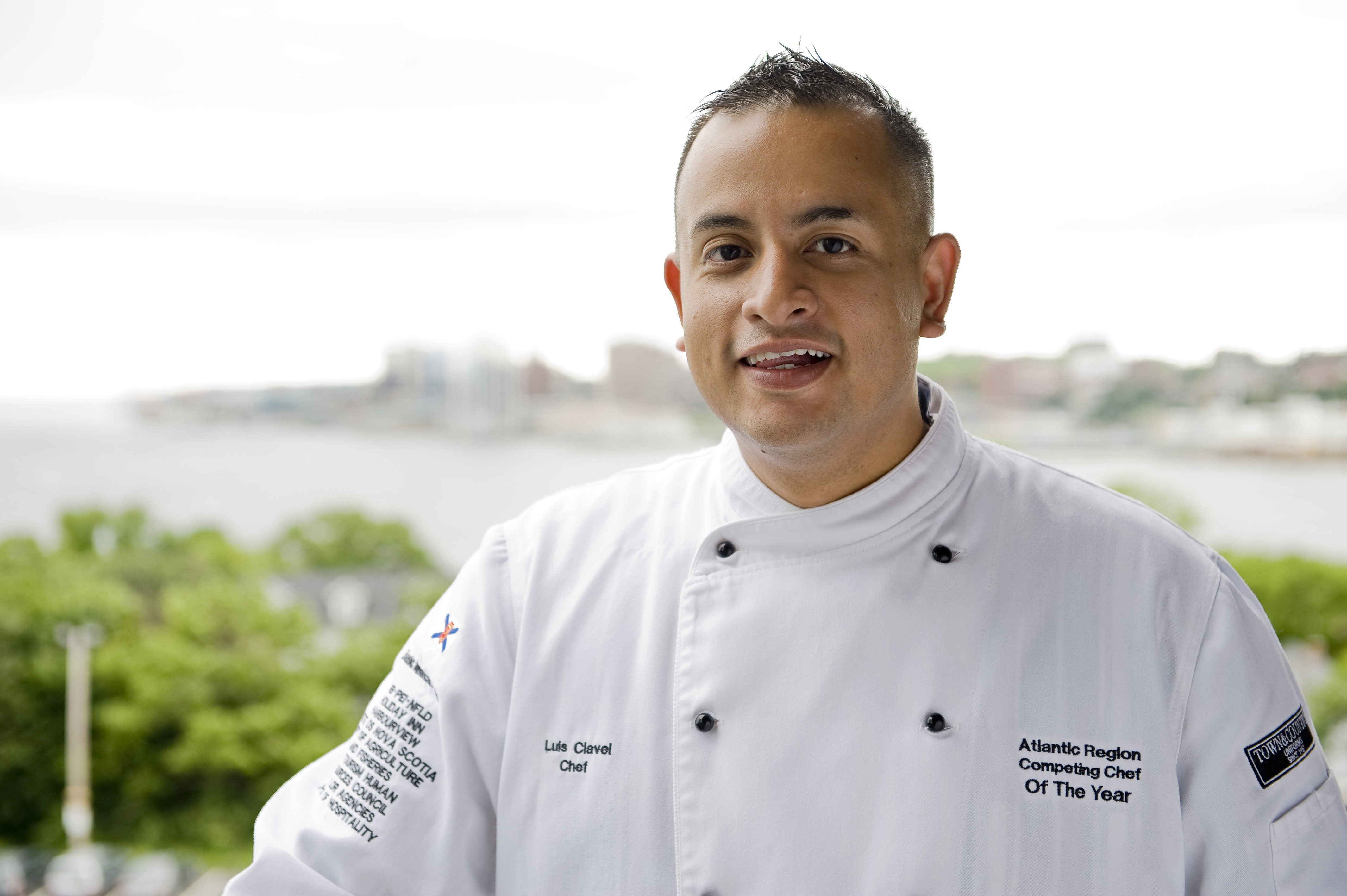 Chef Luis Clavel will share his moms pupusas,and more, tomorrow