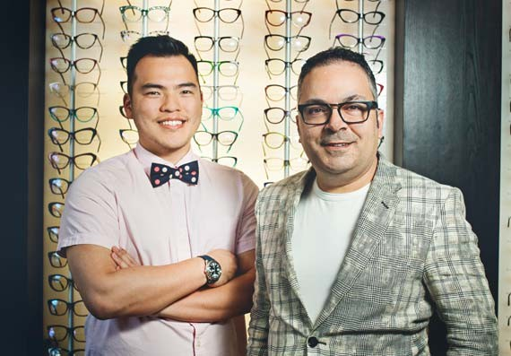 Dr. Poh and Dr. Lang, Lang Optometry - LENNY MULLINS