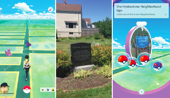 Meeting friends in the Hydrostone District, Explosion park and one of your final Stops.
