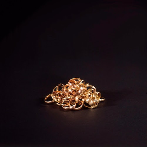 Conceptual jewellery—like this chain of wedding rings—is artist Otto Künzli's speciality. He talks bling at the Central Library  Thursday night ( See 9). - COURTESY OF NSCAD