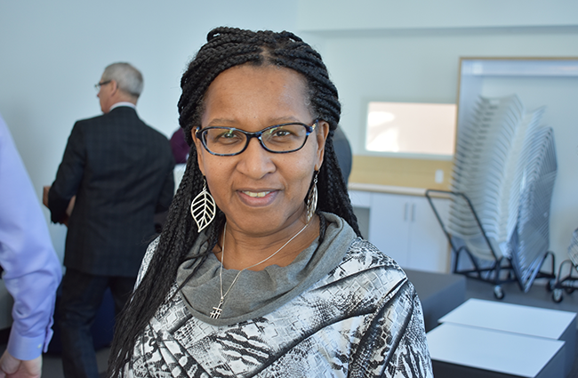 Sylvia Parris is CEO of the Delmore Buddy Daye Learning Institute and the Board of Police Commissioners' 