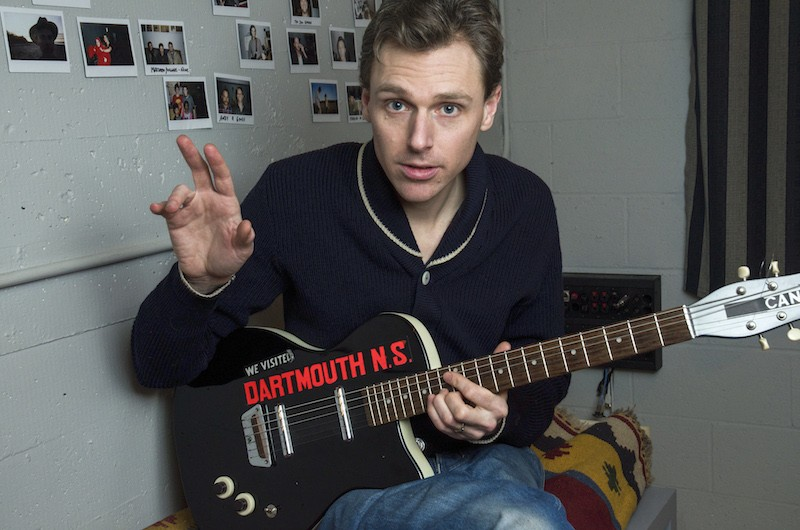 Joel Plaskett rocks out with a special Tall Ships show on George's Island (see 2). - INGRAM BARSS