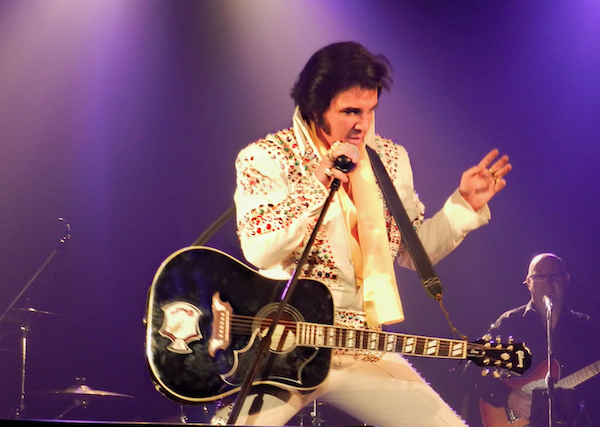 World-champion Elvis impersonator Thane Dunn makes Casino Nova Scotia do the jailhouse rock Sunday(see 5). - SUBMITTED PHOTO