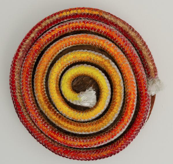 Violet Rosengarten's stunning rope art is a study in textures (see 10). - VIOLET ROSENGARTEN PHOTO