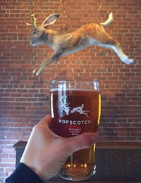 Hopscotch Whisky Bar's jackalope